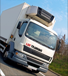 HGV Training Company Lorry